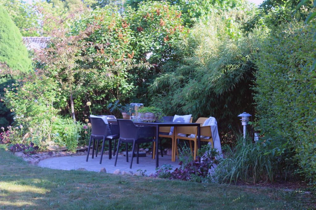 uteplass i hagen