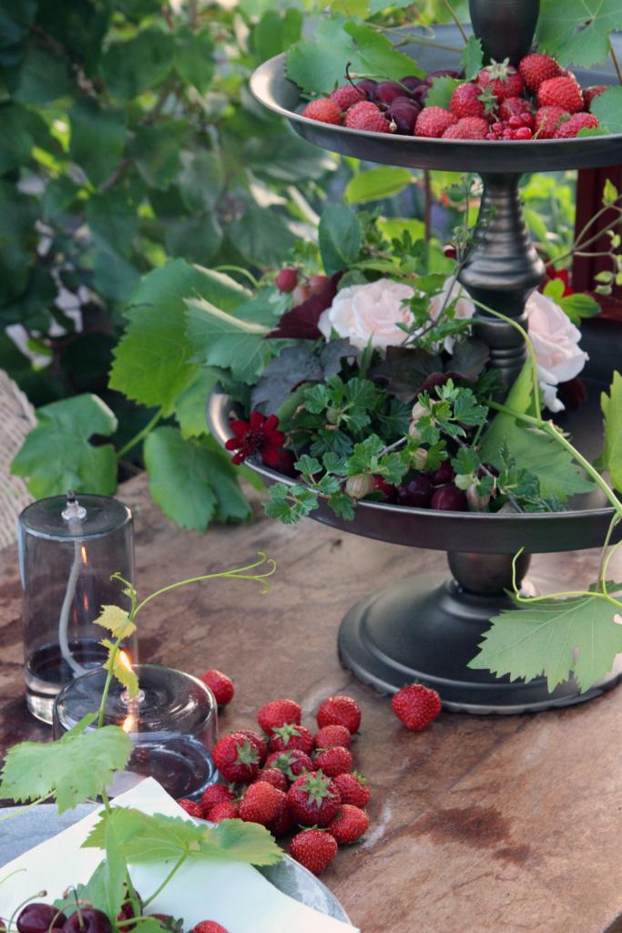 jordbær fra hagen