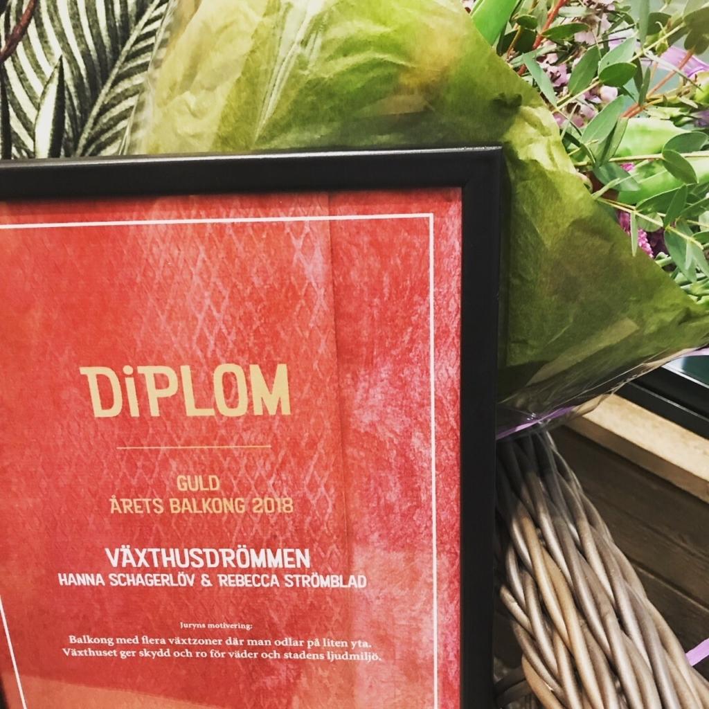 Nordiska trädgårdar idéhage diplom